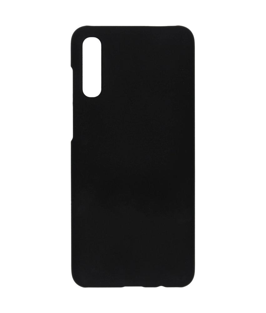 Effen Backcover Samsung Galaxy A70 - Zwart
