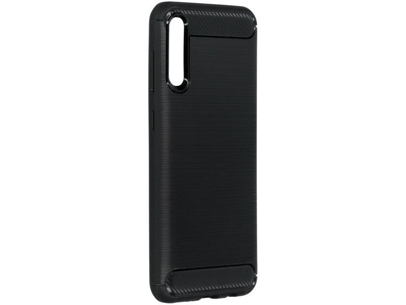 Samsung Galaxy A50 hoesje - Brushed Backcover voor de
