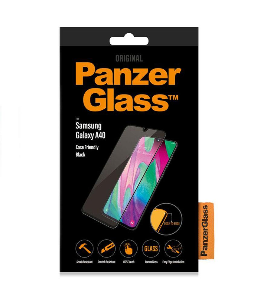 PanzerGlass Case Friendly Screenprotector Samsung Galaxy A40