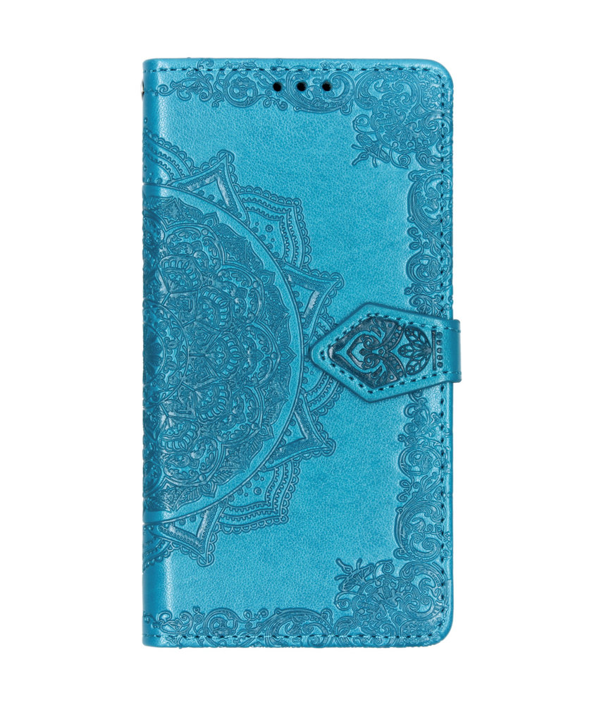 Mandala Booktype Samsung Galaxy A40 - Turquoise