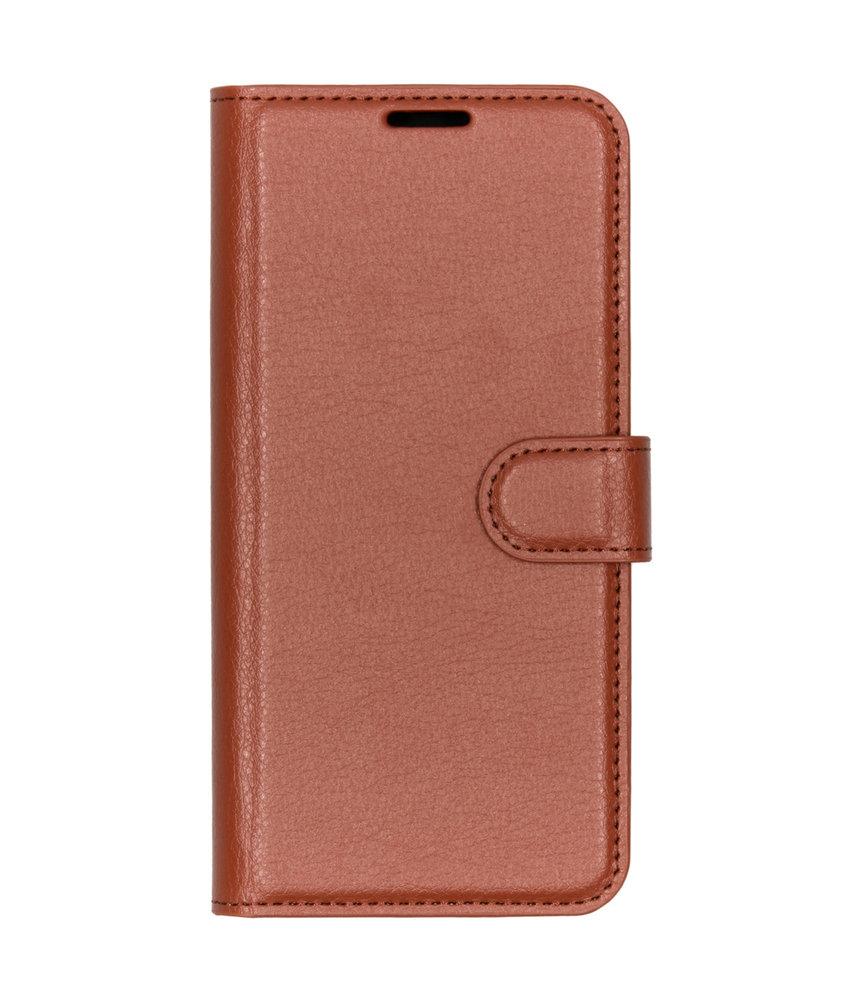 Basic Litchi Booktype Sony Xperia L3 - Bruin