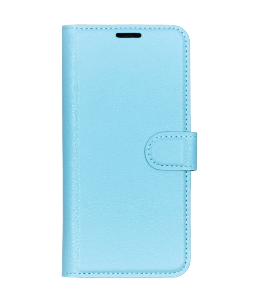 Basic Litchi Booktype Sony Xperia L3 - Blauw