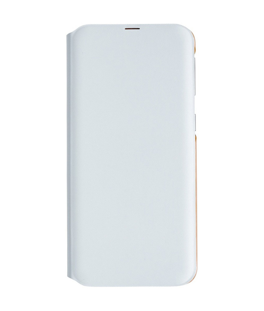 Samsung Wallet Booktype Samsung Galaxy A40 - Wit