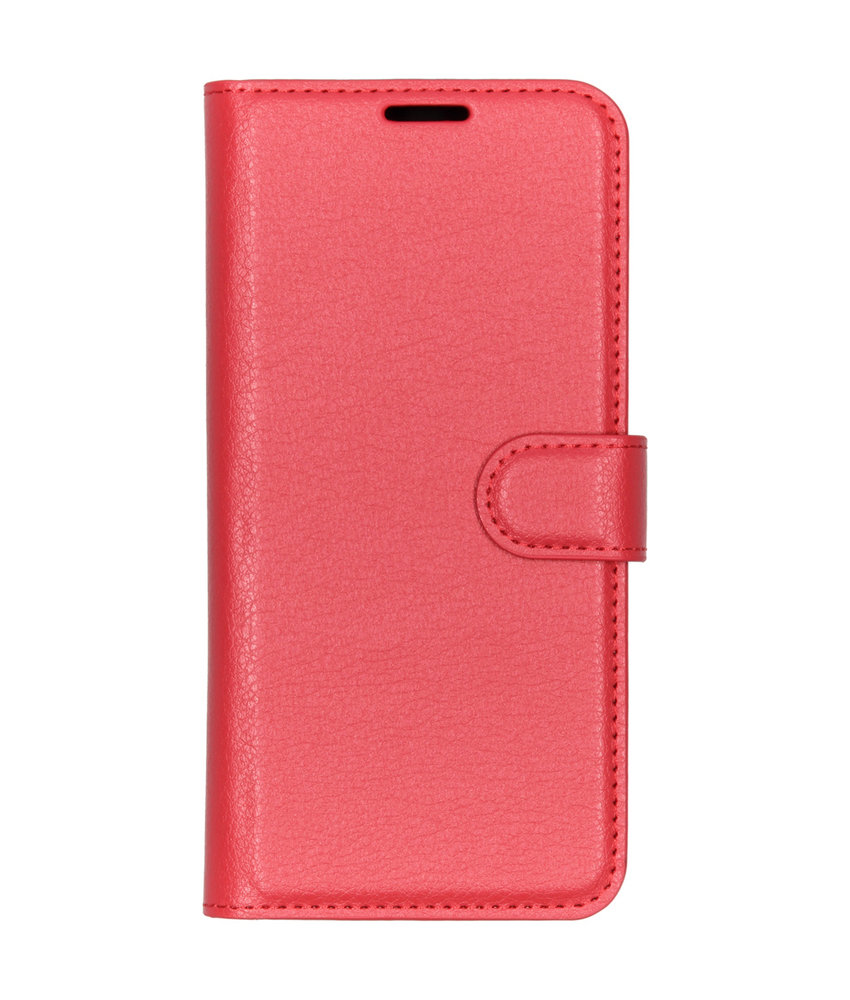 Basic Litchi Booktype Sony Xperia L3 - Rood