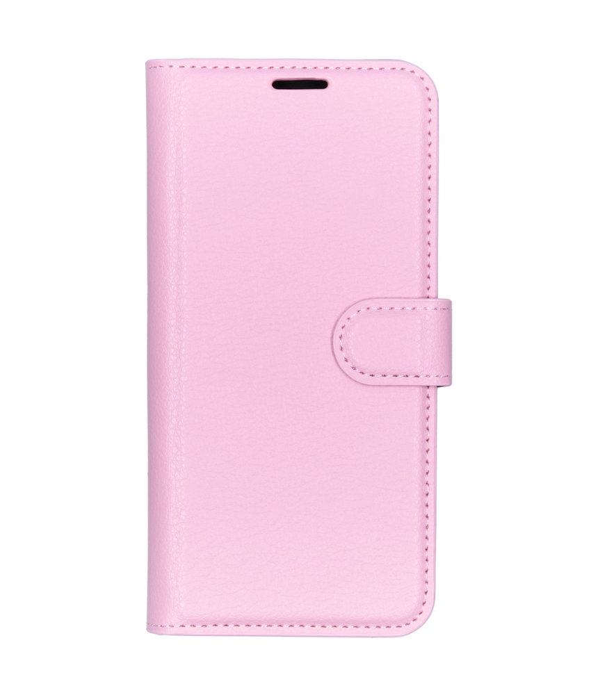 Basic Litchi Booktype Sony Xperia L3 - Roze