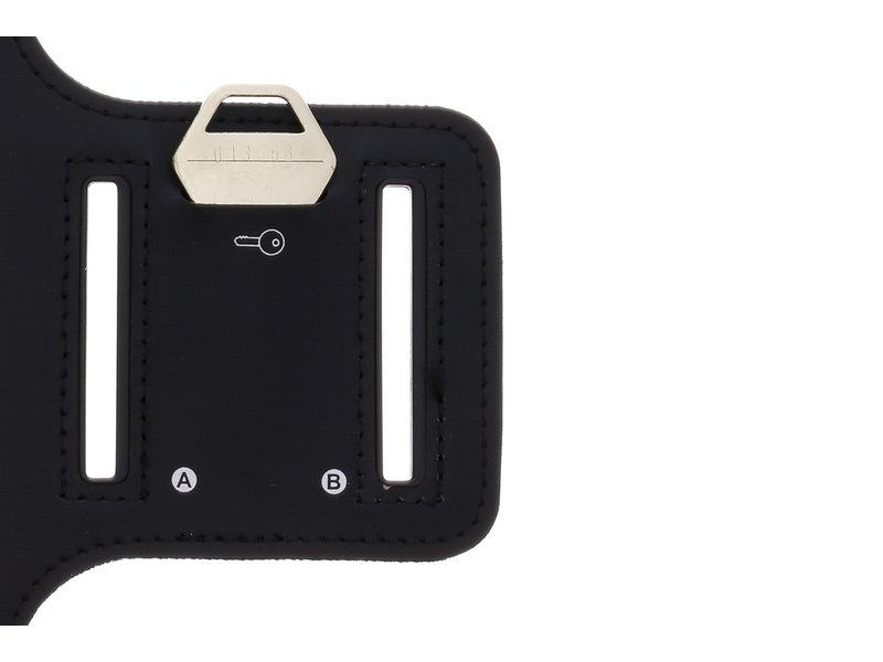 Sportarmband voor de Samsung Galaxy A40 - Zwart
