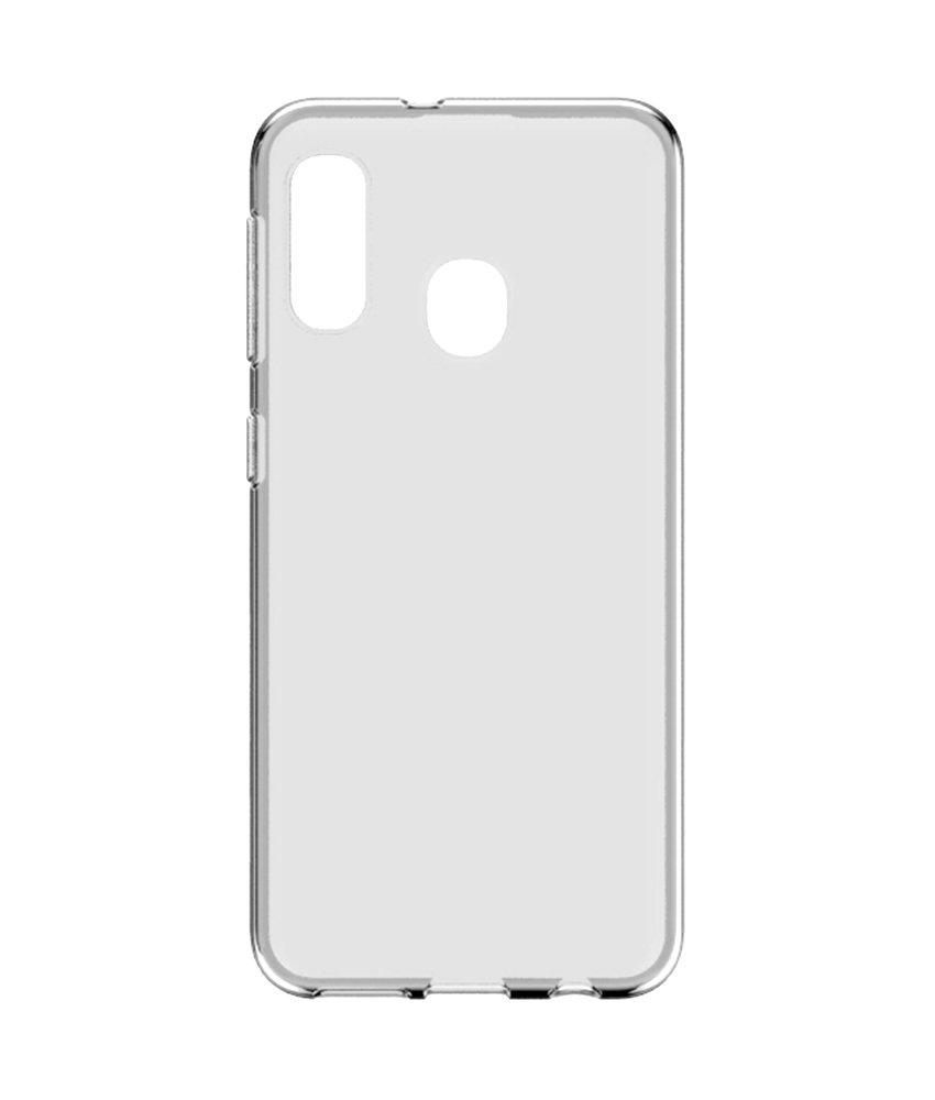 Softcase Backcover Samsung Galaxy A20e - Transparant