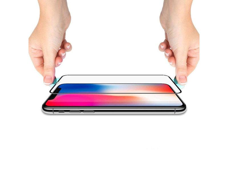Spigen GLAStR Screenprotector voor de iPhone Xs Max - Zwart