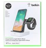 Belkin PowerHouse™ Charge Dock iPhone + Apple Watch - Wit