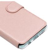 Accezz Xtreme Wallet Booktype voor de Samsung Galaxy S10 Plus - Rosé Goud