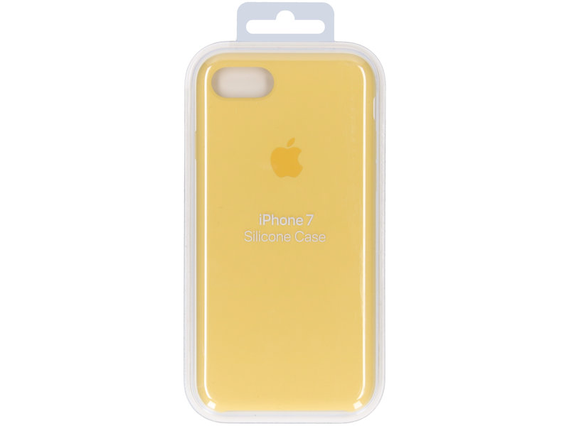 Apple Silicone Backcover voor de iPhone 8 / 7 - Lemonade