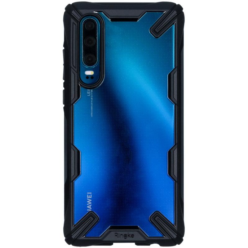 Ringke Fusion X Backcover Huawei P30 - Zwart
