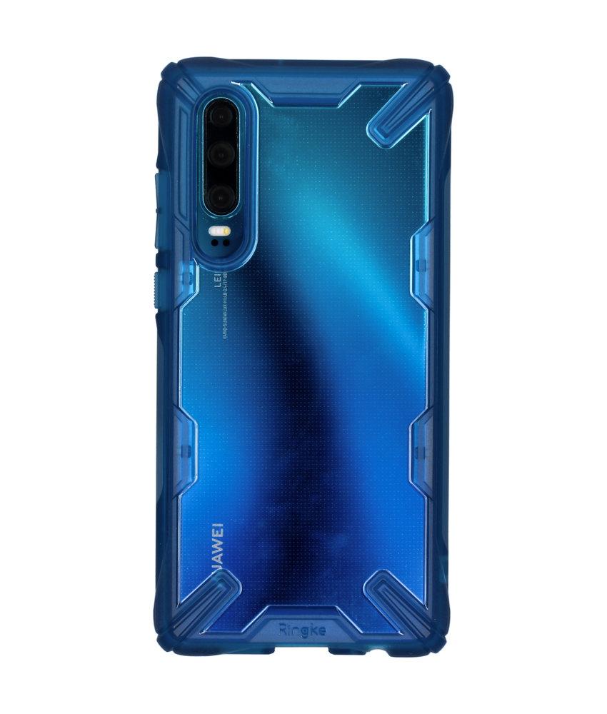 Ringke Fusion X Backcover Huawei P30 - Blauw