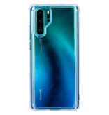 Ringke Fusion Backcover voor de Huawei P30 Pro - Transparant