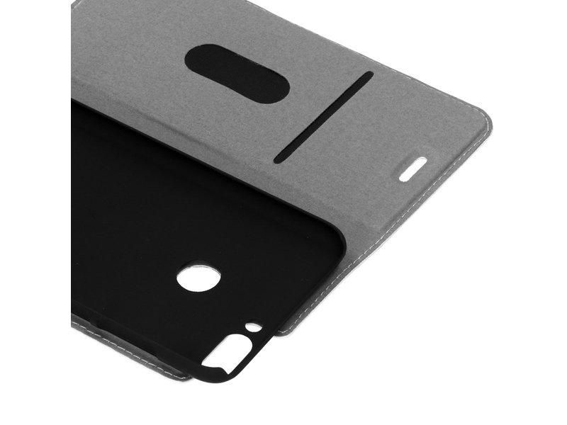 Huawei P Smart hoesje - Design Hardcase Booktype voor
