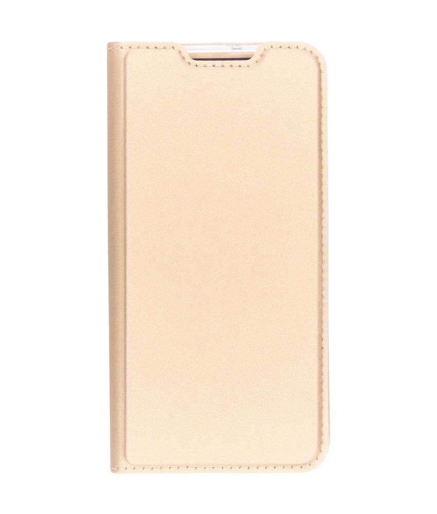 Dux Ducis Slim Softcase Booktype Samsung Galaxy A40 - Goud