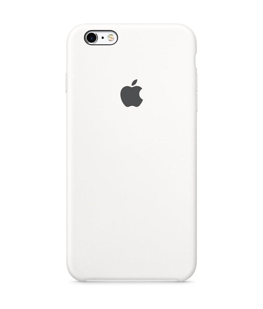 Apple Silicone Backcover iPhone 6 / 6s - Wit