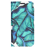 Design Hardcase Booktype voor de Samsung Galaxy A3 (2017) - Blue Botanic