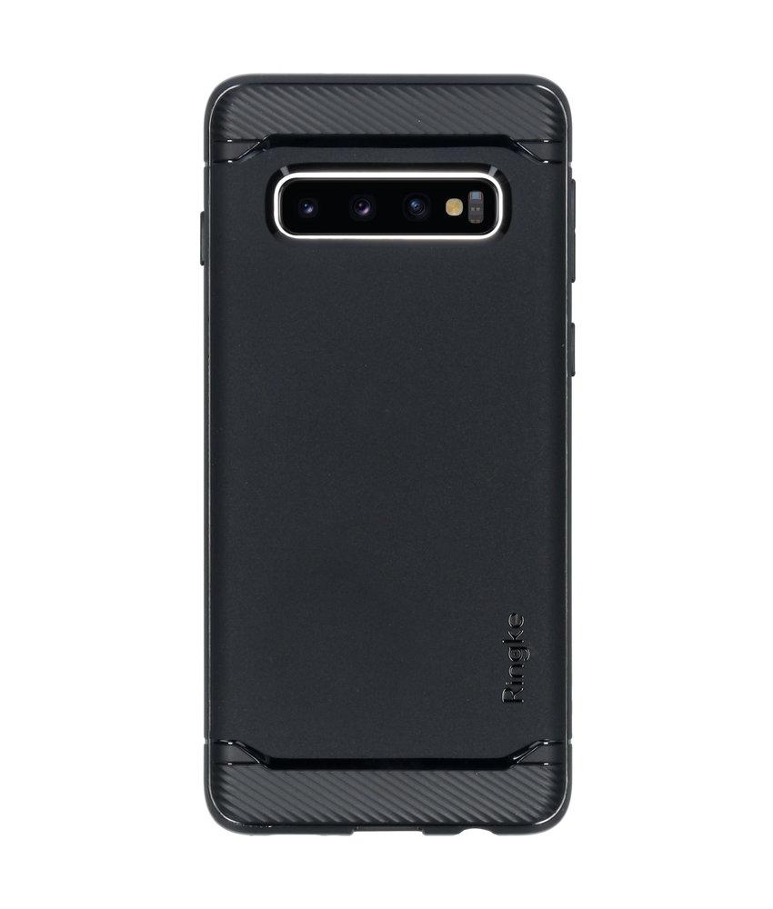 Ringke Onyx Backcover Samsung Galaxy S10 - Zwart