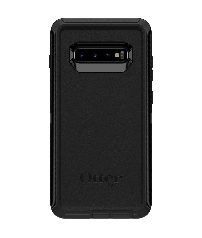 OtterBox Defender Rugged Backcover Samsung Galaxy S10 Plus - Zwart