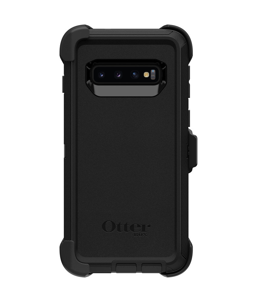 OtterBox Defender Rugged Backcover Samsung Galaxy S10 - Zwart