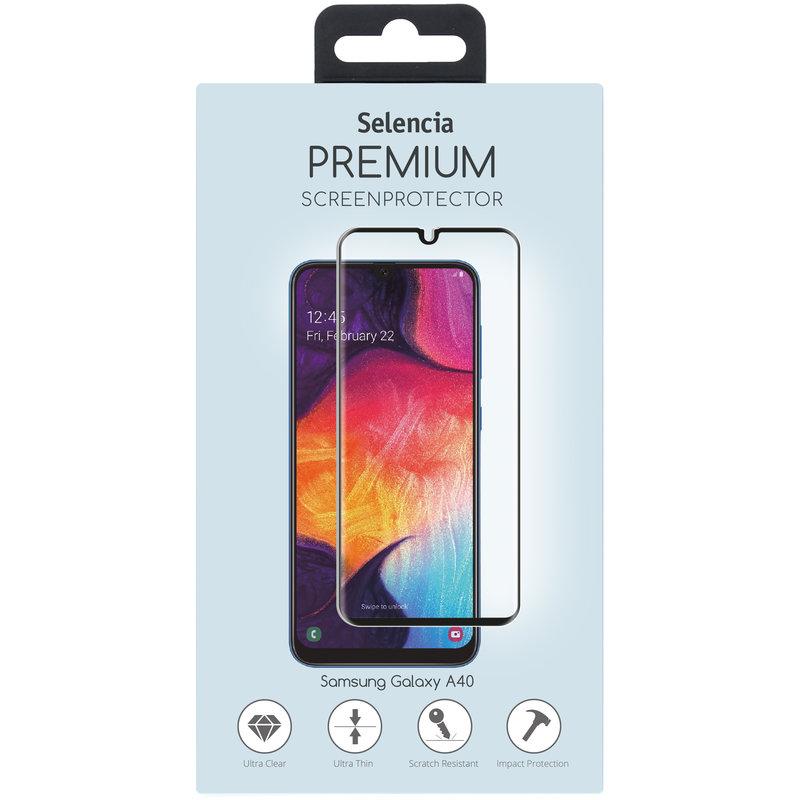 Selencia Gehard Glas Premium Screenprotector Samsung Galaxy A40