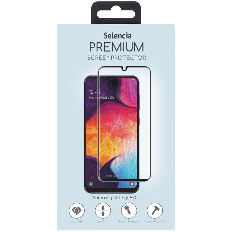 Selencia Gehard Glas Premium Screenprotector Samsung Galaxy A70