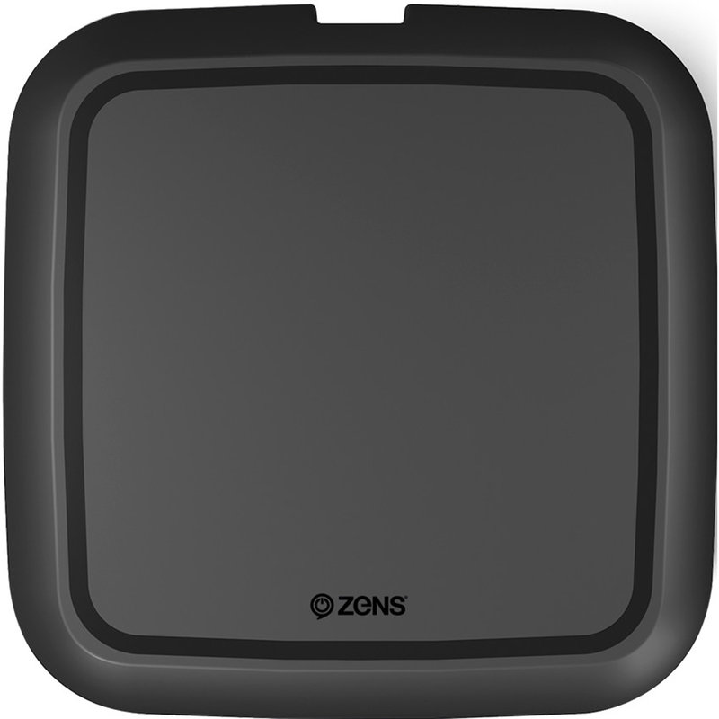 Zens Single Fast Wireless Charger 10W - Zwart