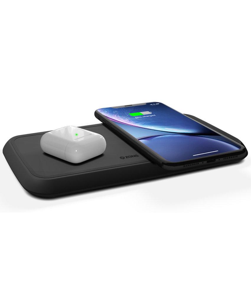 Zens Dual Fast Wireless Charger - 20 Watt