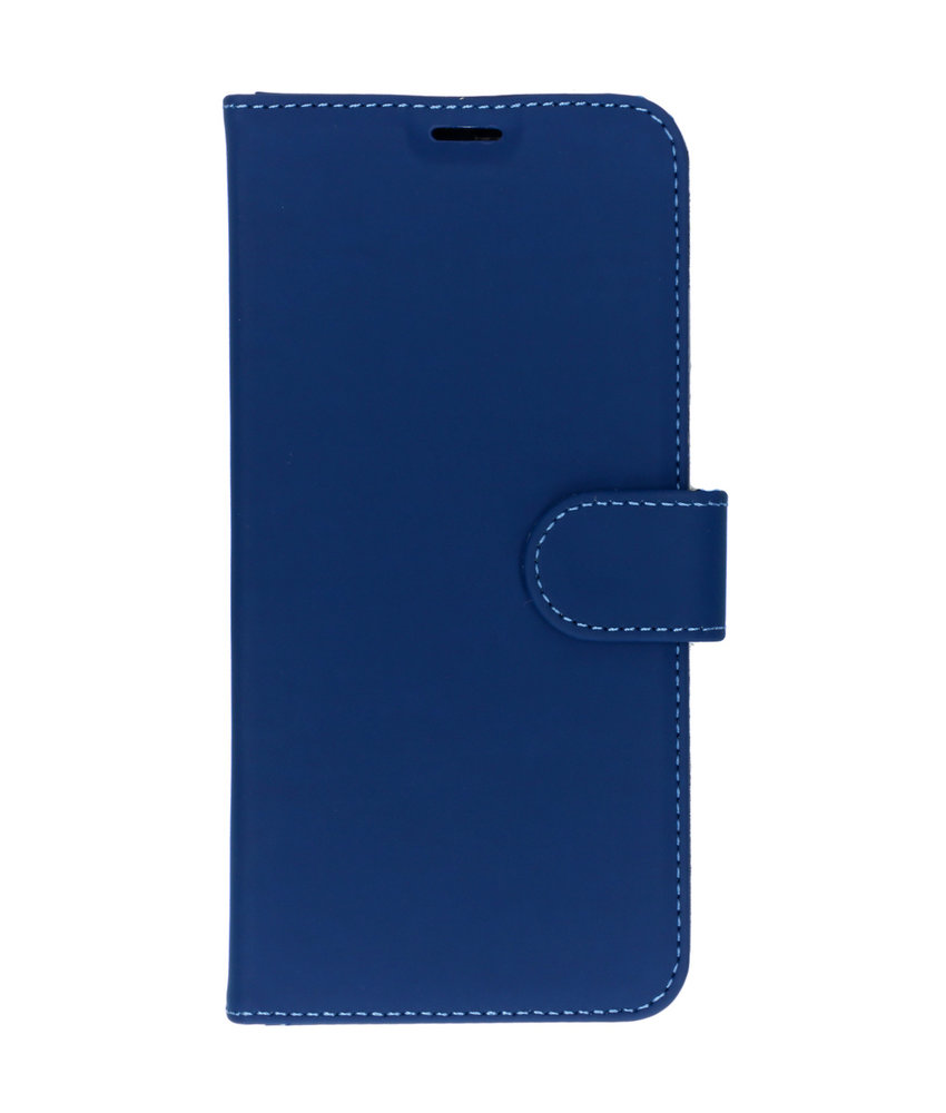 Accezz Wallet Softcase Booktype Huawei Y6 (2019) - Donkerblauw