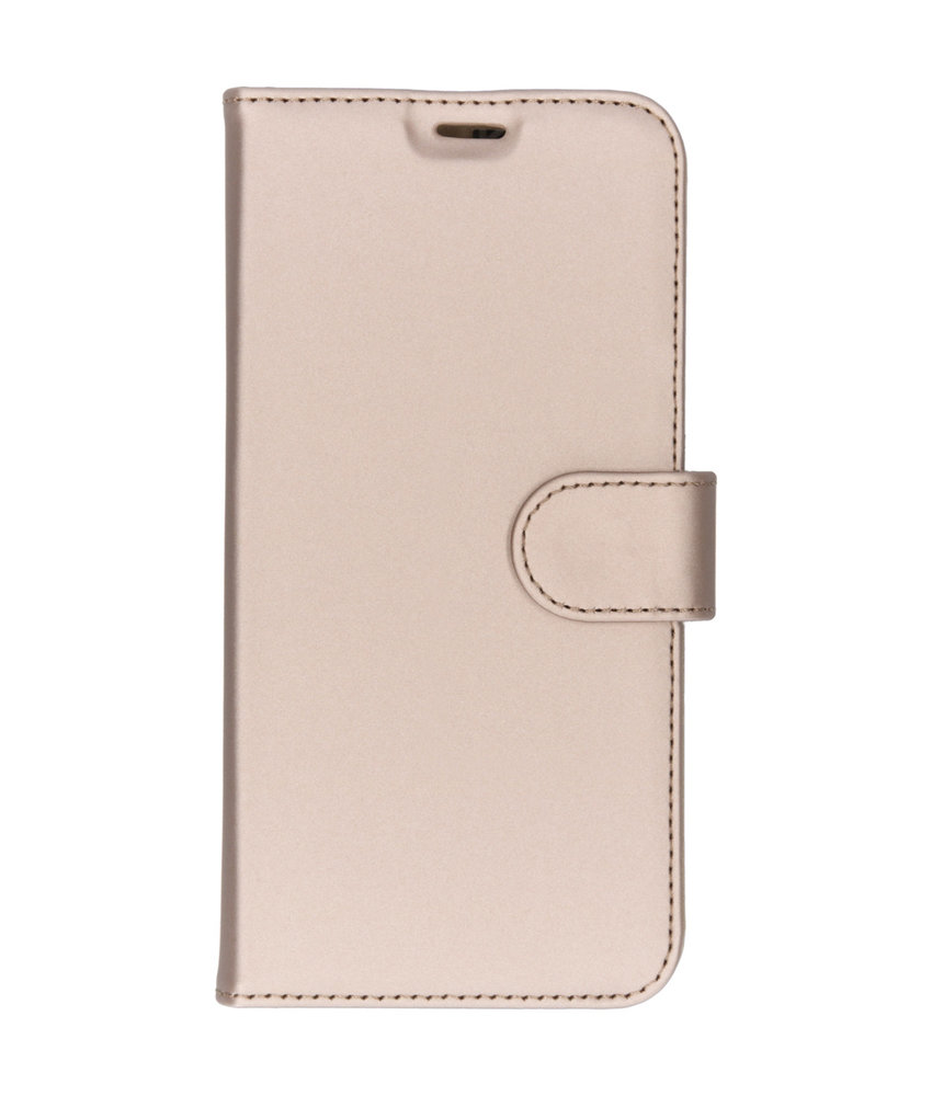 Accezz Wallet Softcase Booktype Huawei Y6 (2019) - Goud