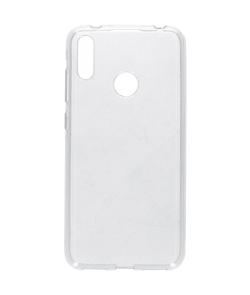Accezz Clear Backcover Huawei Y7 (2019) - Transparant