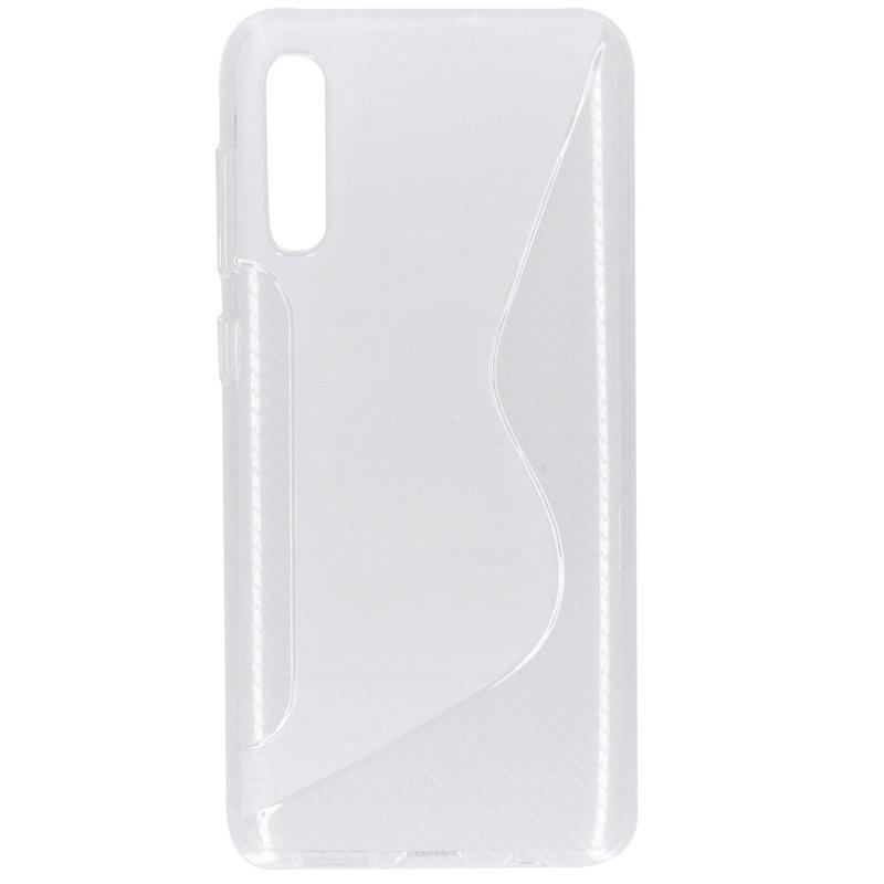 S-line Backcover Samsung Galaxy A50 - Transparant