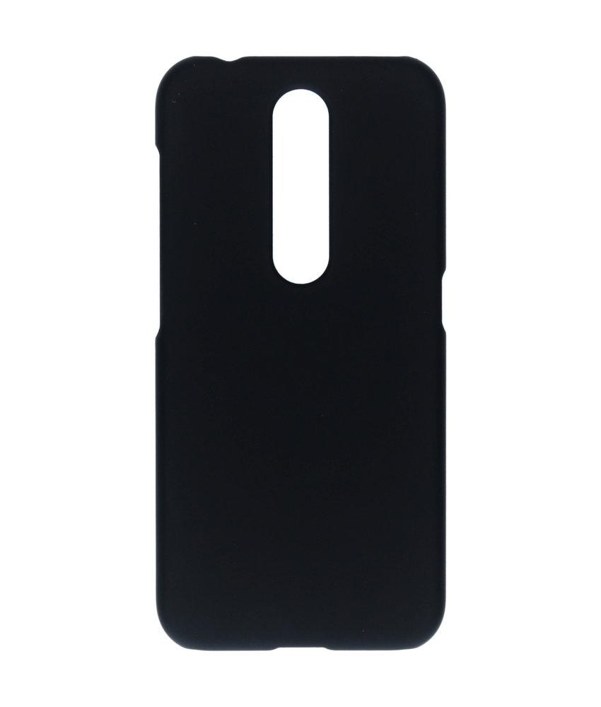 Effen Backcover Nokia 4.2 - Zwart