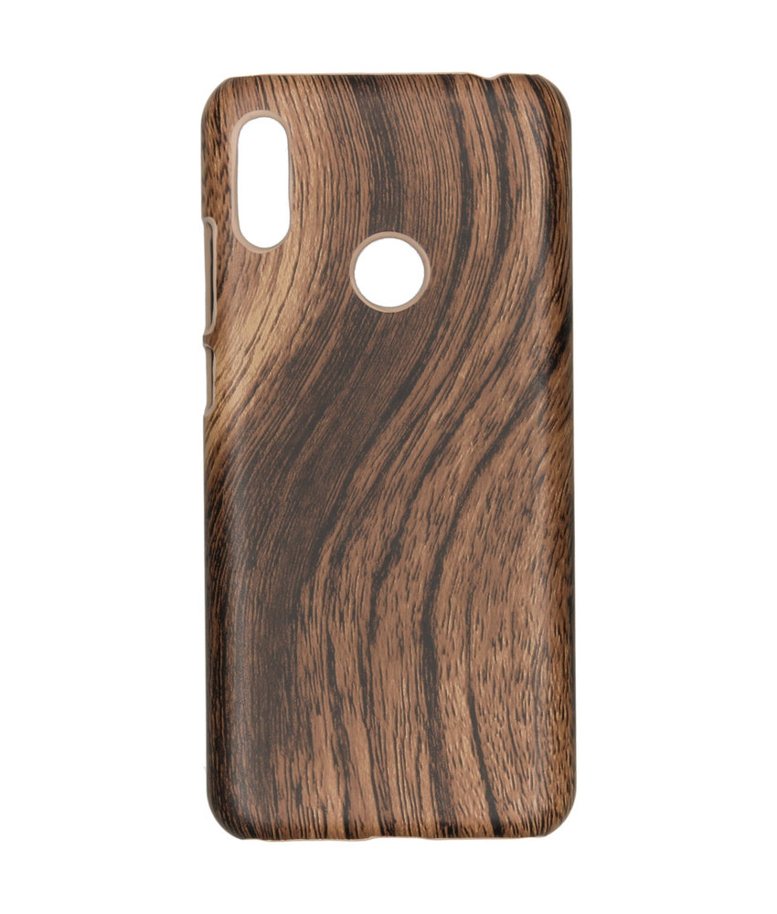 Hout Design Backcover Huawei Y6 (2019)