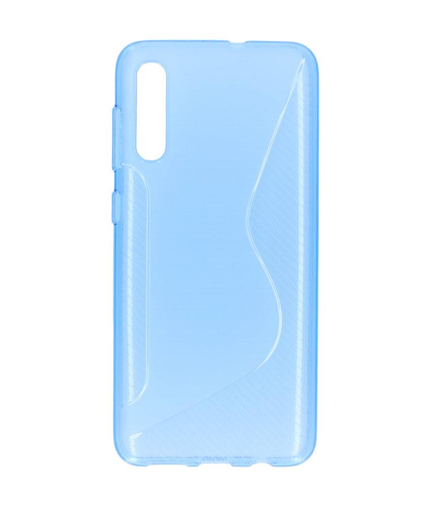 S-line Backcover Samsung Galaxy A50 - Blauw