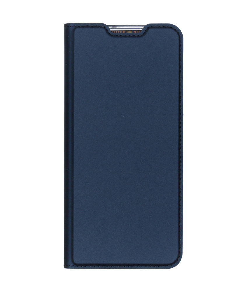 Dux Ducis Slim Softcase Booktype Samsung Galaxy A70 - Donkerblauw