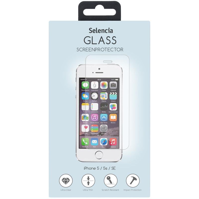 Selencia Gehard Glas Screenprotector iPhone SE / 5 / 5s
