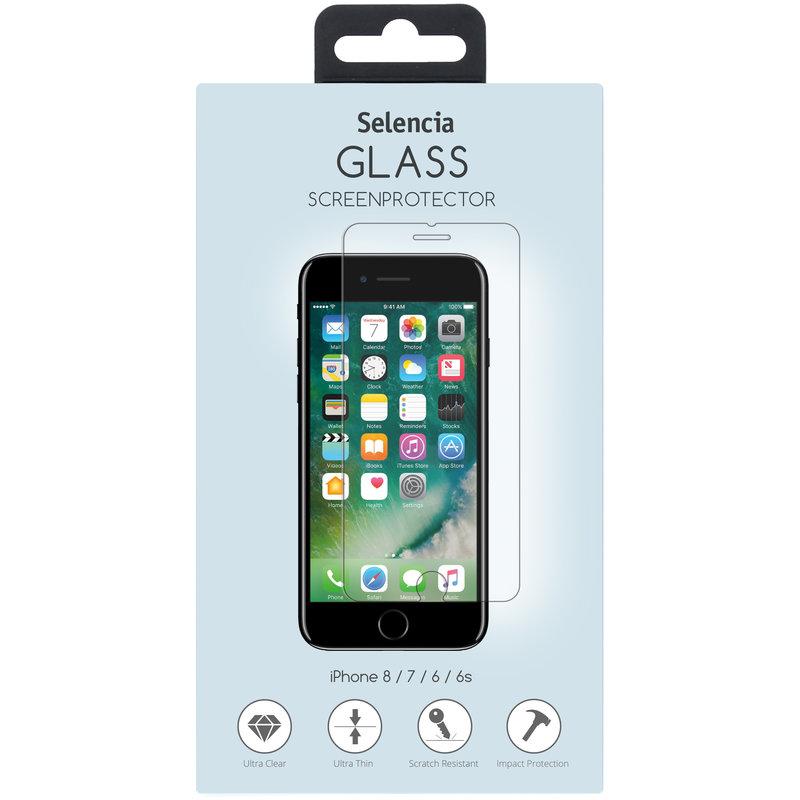 Selencia Gehard Glas Screenprotector iPhone 8 / 7 / 6s / 6
