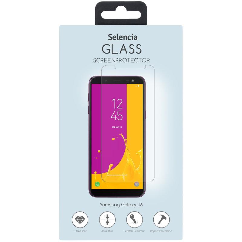 Selencia Gehard Glas Screenprotector Samsung Galaxy J6