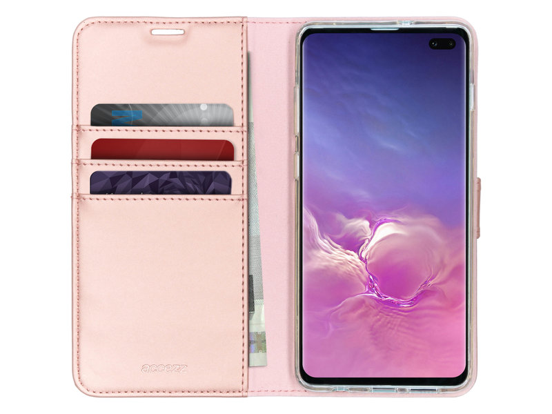 Samsung Galaxy S10 Plus hoesje - Accezz Wallet Softcase Booktype