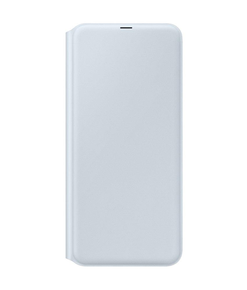 Samsung Wallet Booktype Samsung Galaxy A70 - Wit