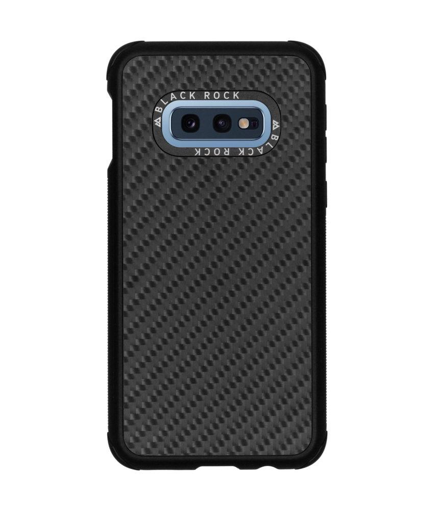 Black Rock Real Carbon Backcover Samsung Galaxy S10e - Zwart