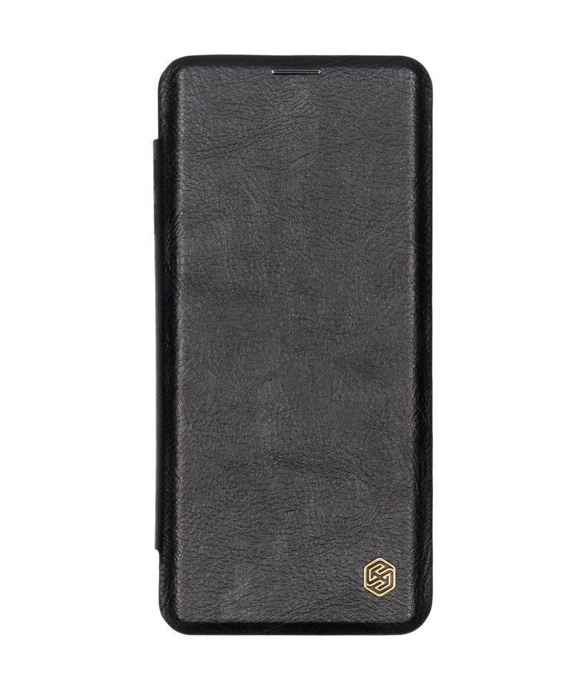 Nillkin Qin Leather Slim Booktype Samsung Galaxy S10 Plus - Zwart