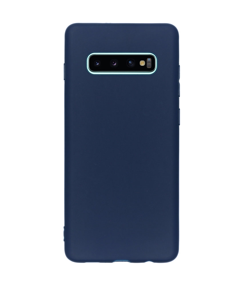 Color Backcover Samsung Galaxy S10 Plus