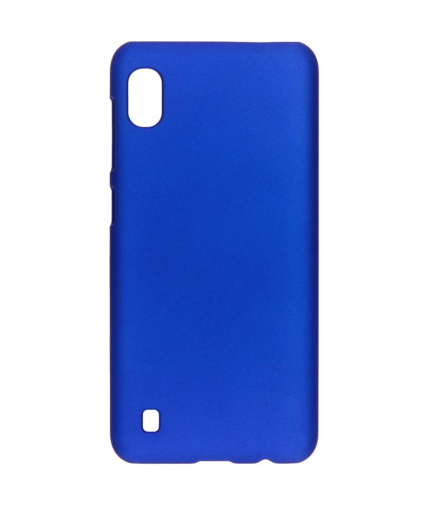 Effen Backcover Samsung Galaxy A10 - Blauw
