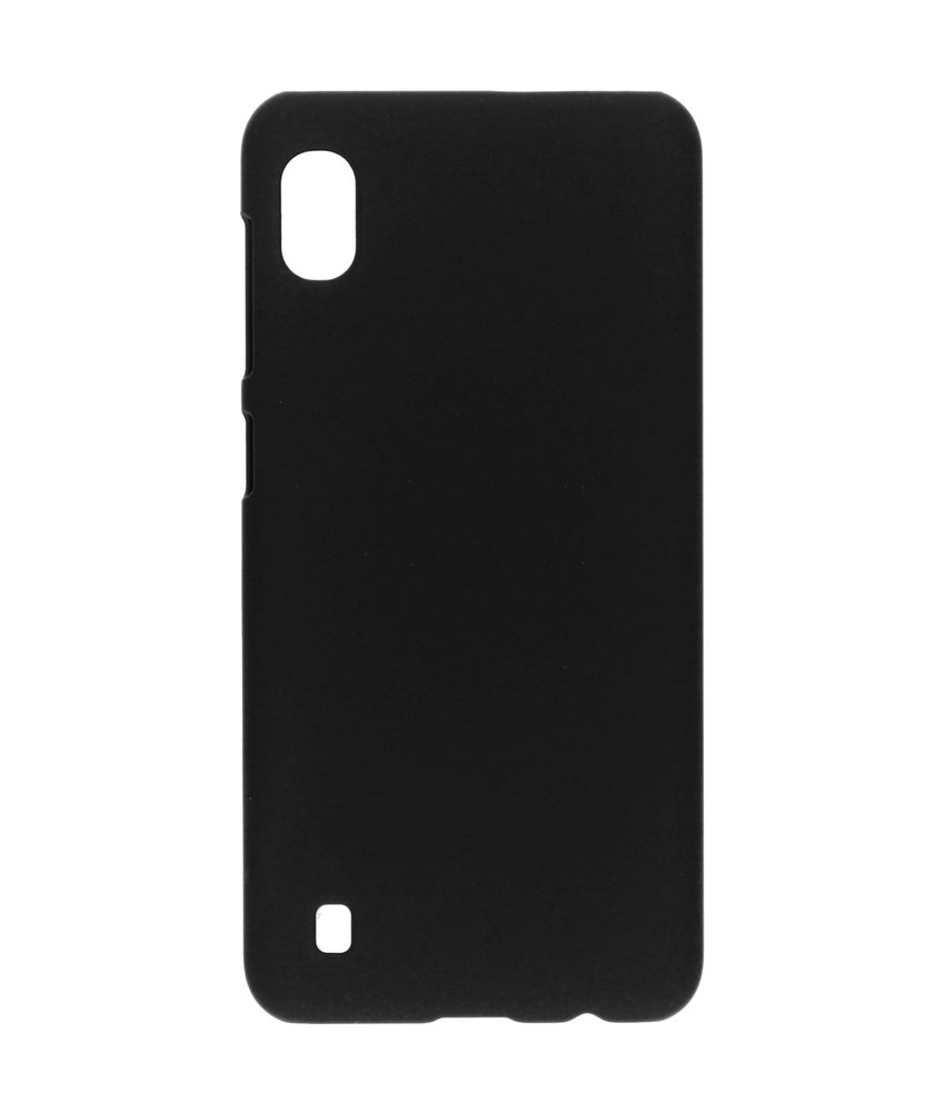Effen Backcover Samsung Galaxy A10 - Zwart