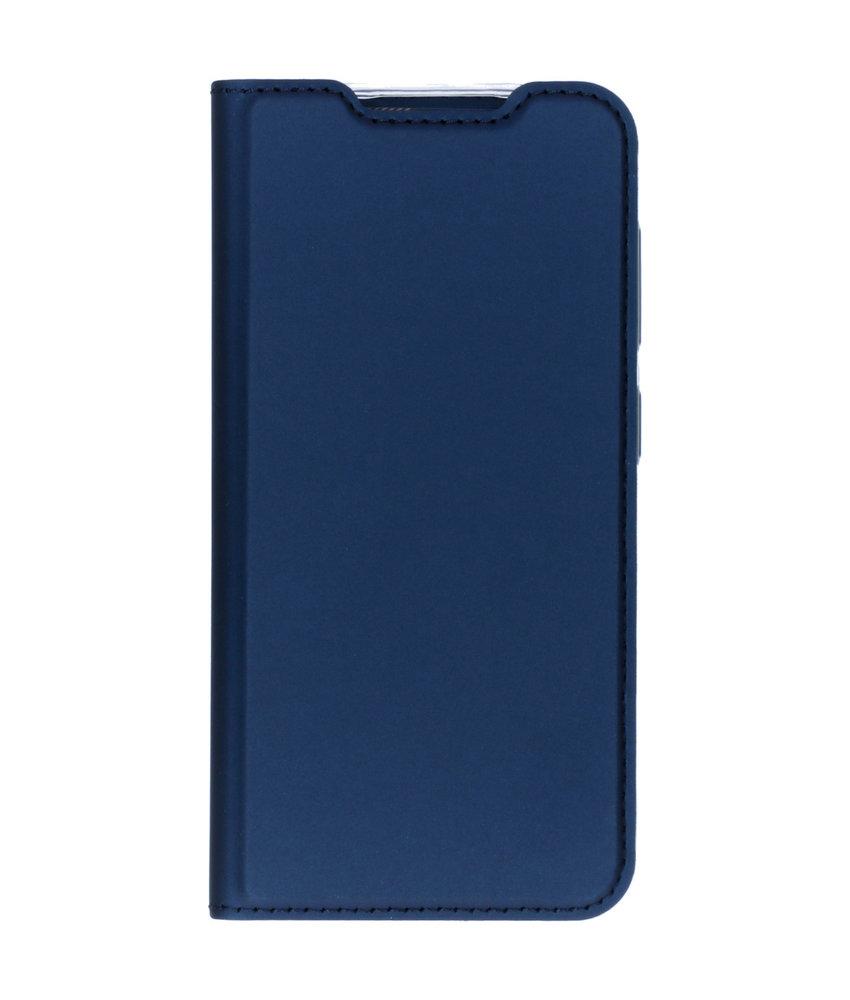 Dux Ducis Slim Softcase Booktype Nokia 4.2 - Donkerblauw