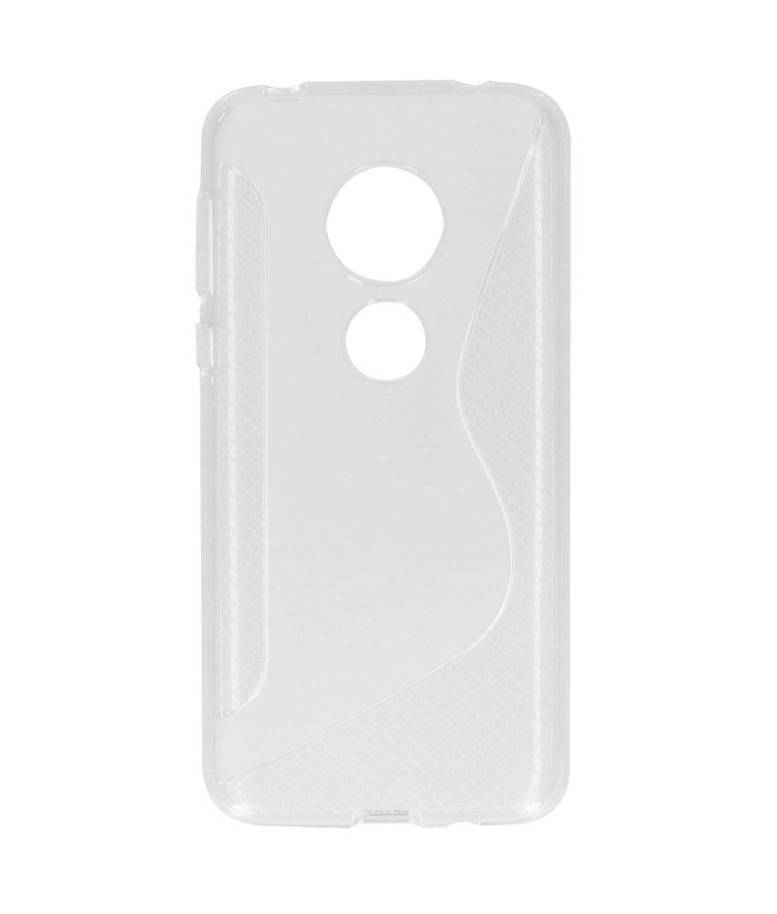S-line Backcover Motorola Moto G7 Play - Transparant
