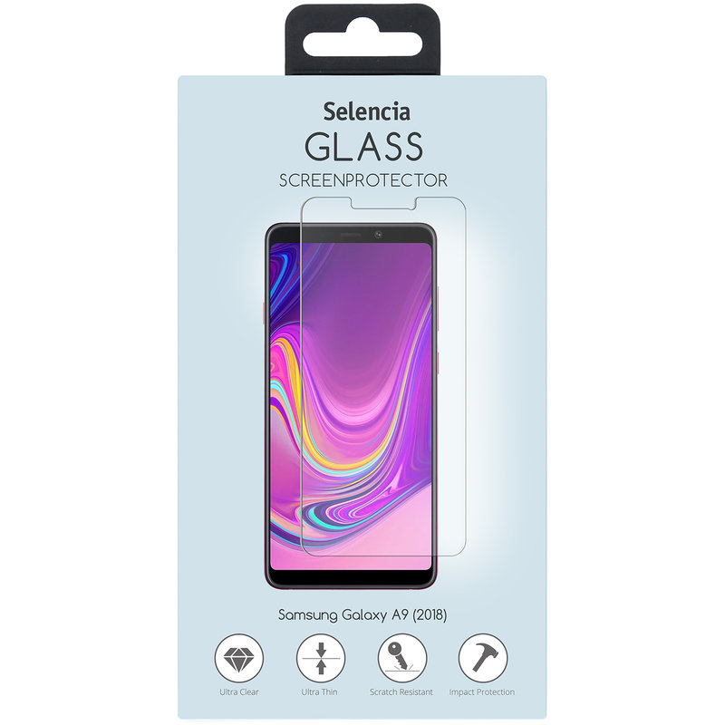 Selencia Gehard Glas Screenprotector Samsung Galaxy A9 (2018)